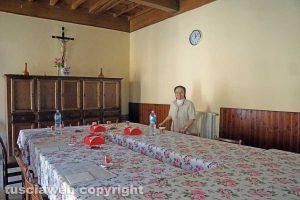 La vita al monastero di Santa Rosa