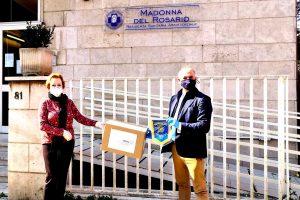 Civitavecchia - La donazione alla Rsa Madonna del Rosario