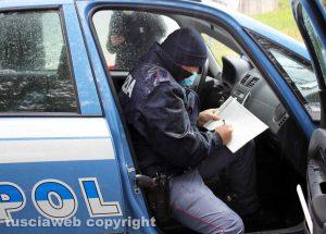 Giove zona rossa - I controlli della polizia