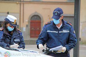 Coronavirus - Controlli - Polizia locale