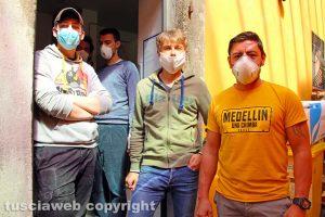 Coronavirus - Viterbo - I volontari della Caritas diocesana