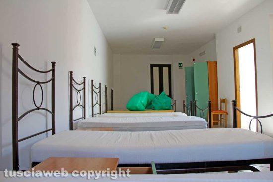 Coronavirus - Viterbo - Il dormitorio spostato adesso in viale Capocci