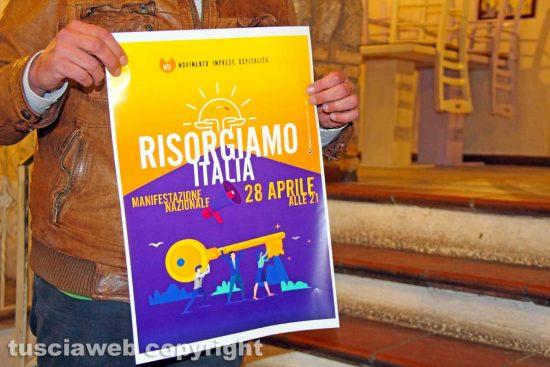 Viterbo - L'iniziativa Risorgiamo Italia