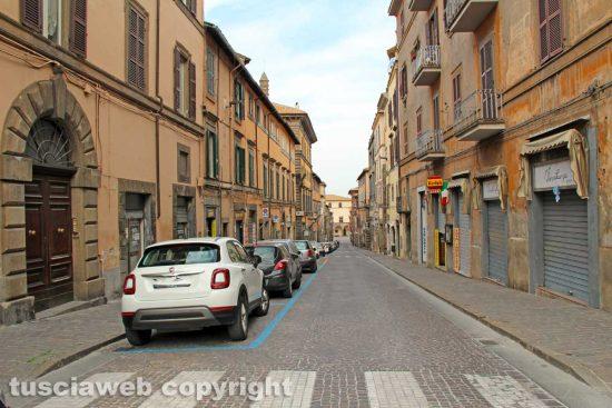 Viterbo - Via Cavour