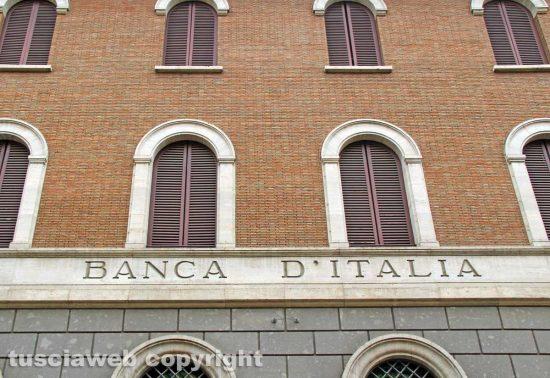 Viterbo - La Banca d'Italia in via Marconi
