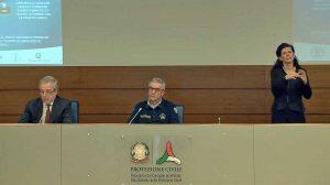 Roma - Angelo Borrelli e Franco Locatelli in conferenza stampa