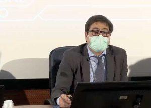 L'assessore regionale D'Amato in conferenza stampa