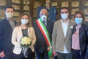 Caprarola - Il matrimonio celebrato ieri