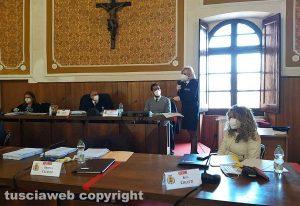 Montefiascone - Il consiglio comunale - L'intervento della comandante Giulia Bassi