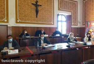 Montefiascone - Il consiglio comunale - La maggioranza