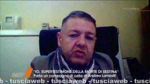 Claudio Cipollini Macrì detto zio Rocco a Quarto Grado