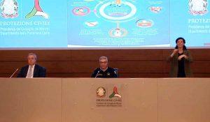 Coronavirus - La conferenza stampa della protezione civile del 17 aprile