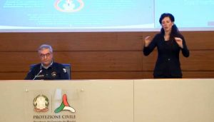 Coronavirus - La conferenza stampa della protezione civile del 23 aprile