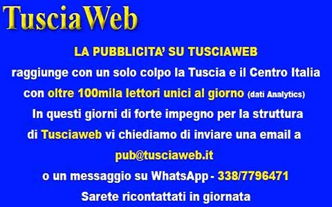 Tusciaweb 100 mila pubblicità