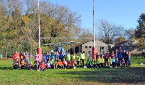 Il progetto del Montevirginio rugby per far conoscere lo sport ai ragazzi