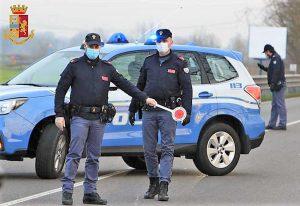 Coronavirus - Controlli della polizia