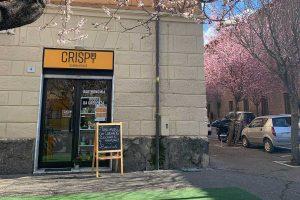 Crispy, il negozio in piazza Crispi a Viterbo
