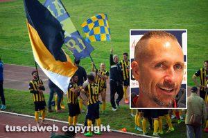 Sport - Calcio - Viterbese - La vittoria del campionato - Nel riquadro: Federico Nofri