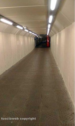 Orte - Il sottopassaggio della stazione