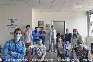 Il Team operativo Coronavirus della Asl di Viterbo