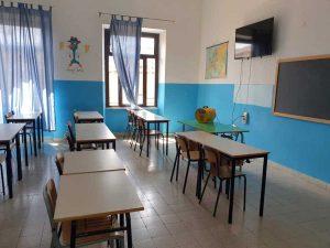 Ronciglione - Sanificazione liceo scientifico Meucci