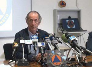 Luca Zaia in conferenza stampa