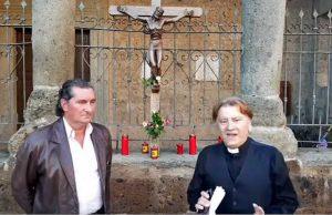 Vasanello - Il sindaco Antonio Porri e il parroco Enzo Prato
