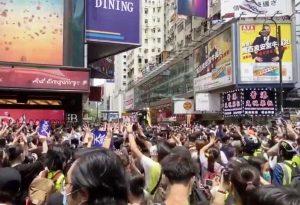 Hong Kong - Proteste contro la legge sulla sicurezza nazionale