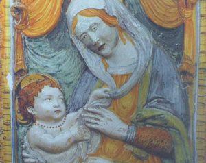 Castel Sant'Elia - L'immagine della Madonella
