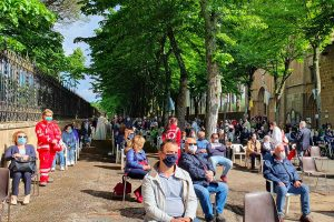 Civita Castellana - La messa conclusiva del mese mariano