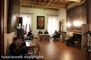 Orte - Il consiglio comunale nella sala delle Bandiere