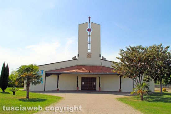 Viterbo - La chiesa della Sacra famiglia