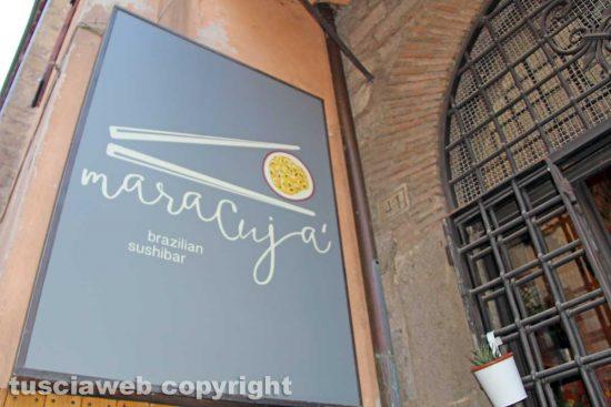 Viterbo - Il sushibar in via San Lorenzo