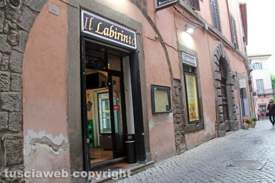 Viterbo - Ristorante-pizzeria Il Labirinto