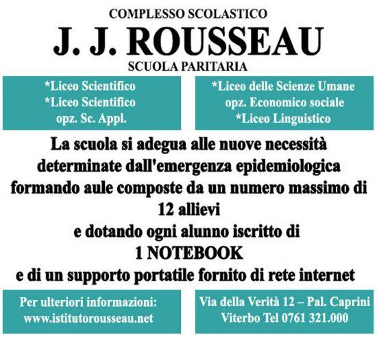 Viterbo - L'istituto Rousseau