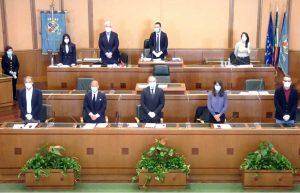 Consiglio regionale - Minuto di silenzio