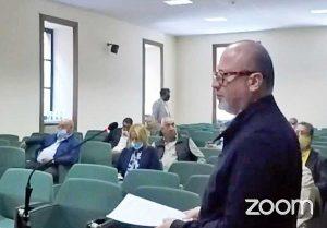 Viterbo - Consiglio comunale in provincia - Buzzi (FdI)