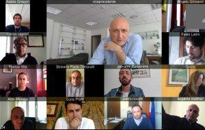 Il vicepresidente della regione Leodori in videoconferenza