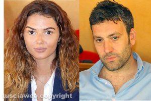 Giulia Pieri e Andrea Sebastiani