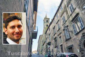 Valentano - Nel riquadro: Stefano Bigiotti