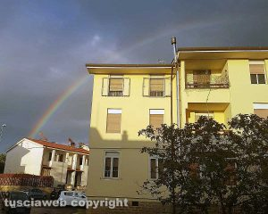 Arcobaleno a San Martino al Cimino