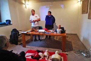 Montalto di Castro - Il corso di primo soccorso pediatrico