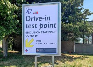 Coronavirus - Drive-in test point