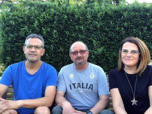 Tuscania - Il nuovo direttivo di Fratelli d'Italia - Da sinistra: Leopoldo Liberati, Massimo Pierantozzi e Stefania Nicolosi