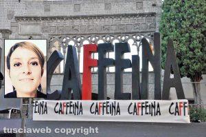 Caffeina - Nel riquadro: Sara Bettini