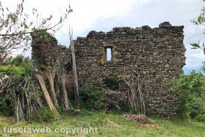 Viterbo - Il castello di Petrignano a Tobia