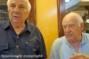 Viterbo - Gianfranco Grazini e Saul Pallotta