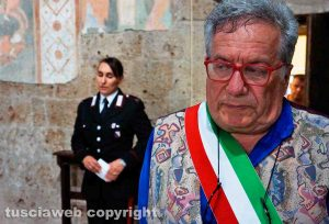 Castel Sant'Elia - Il sindaco Vincenzo Girolami