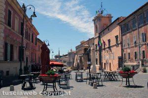 Tarquinia - La ztl in centro storico