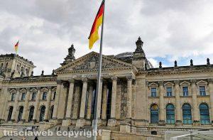 Berlino - Il palazzo del Reichstag